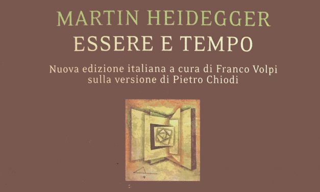 ESSERE E TEMPO Heidegger