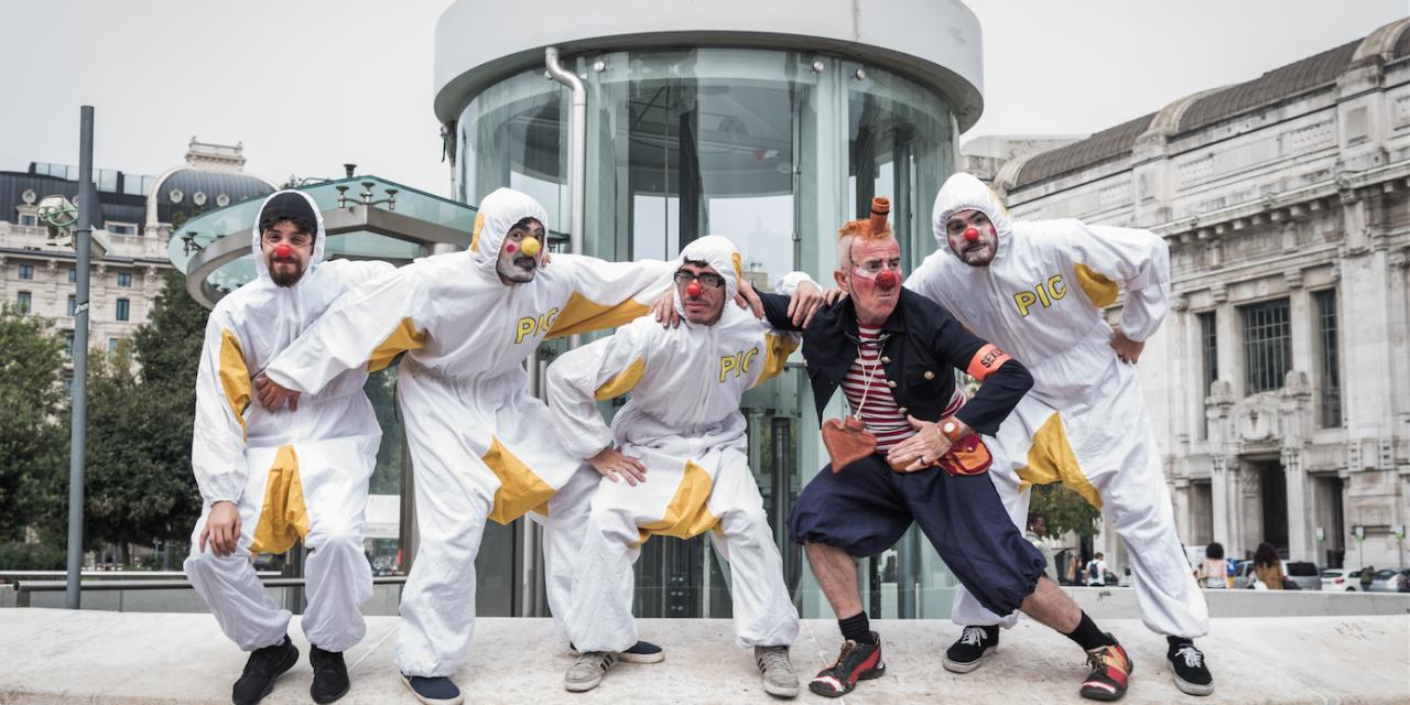Milano clown festival. Moriss e i PIC, il pronto intervento clown