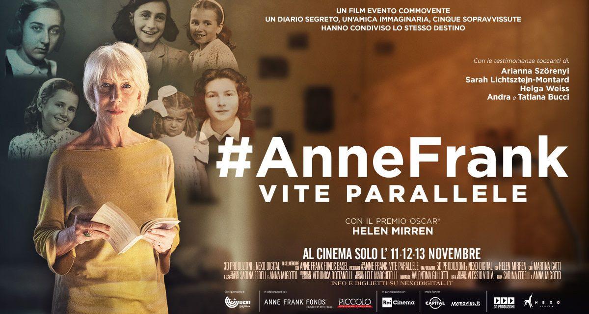 #AnneFrank. Vite parallele.