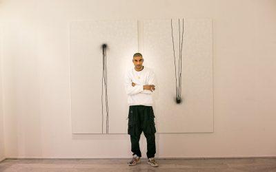 Omar Hassan. Un corpo a corpo pittorico